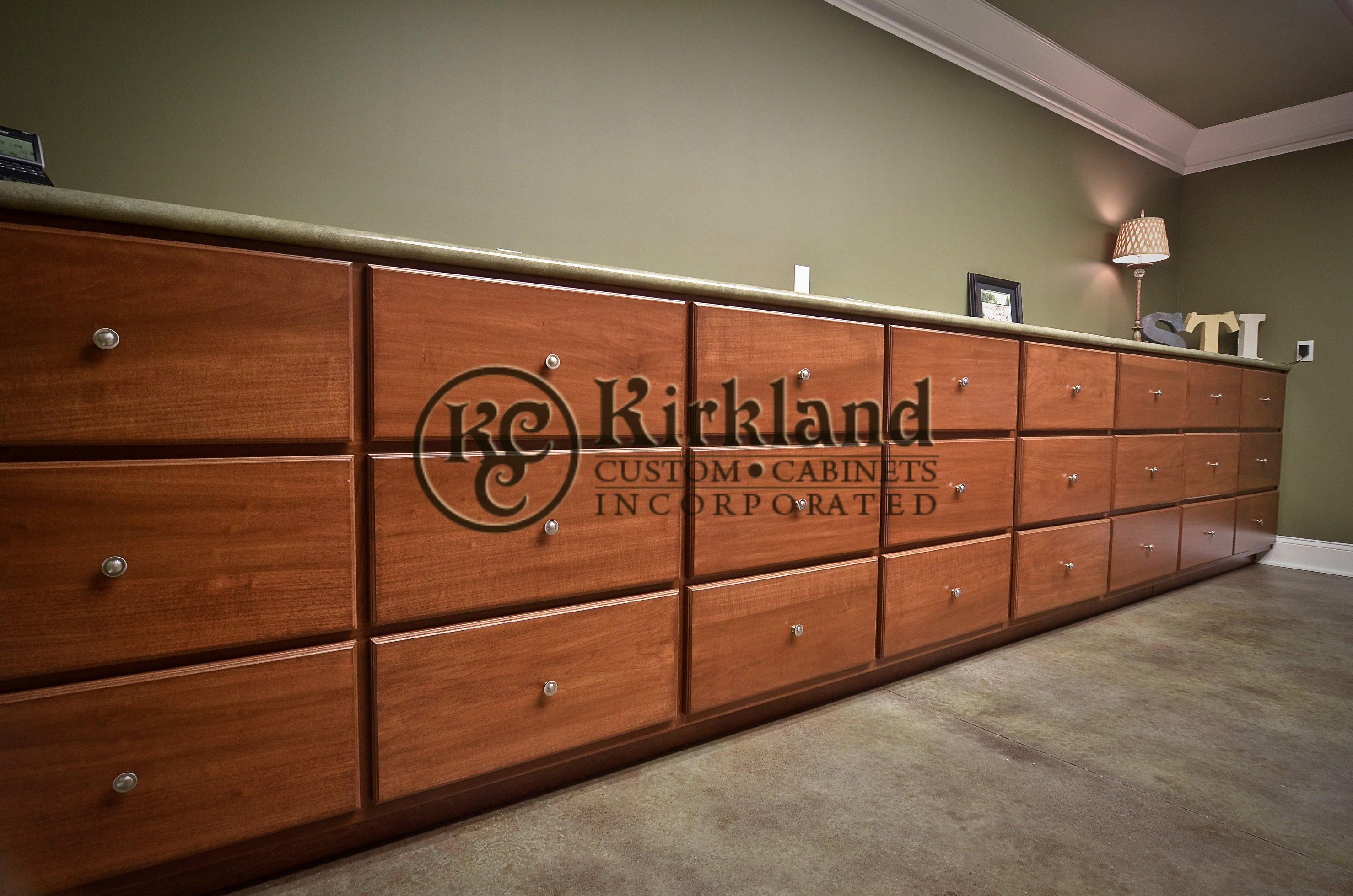 Custom drawers1 poplar wood with umber stain 01 - Poplar wood kitchen cabinets ...