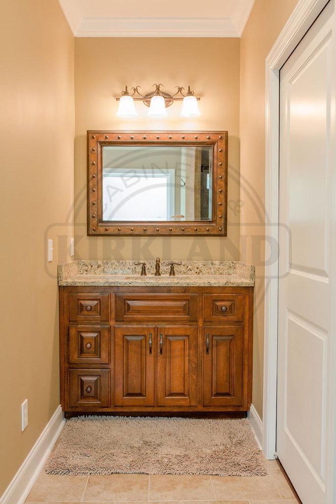 Single Vanity with Raised Panel Doors