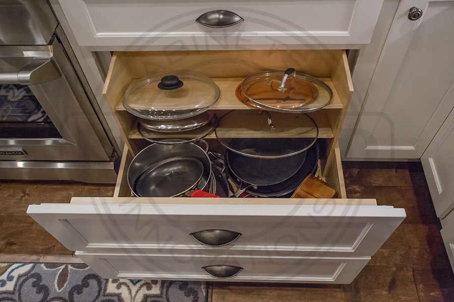 Custom Pots and Pans Organzier System