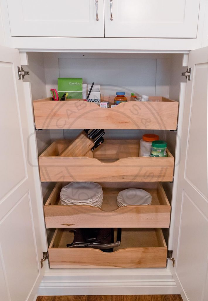 Custom Pullout Storage System