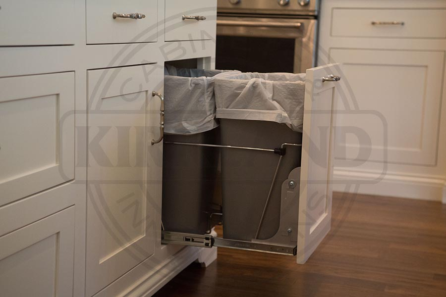 Double Garbage Can Pullout System