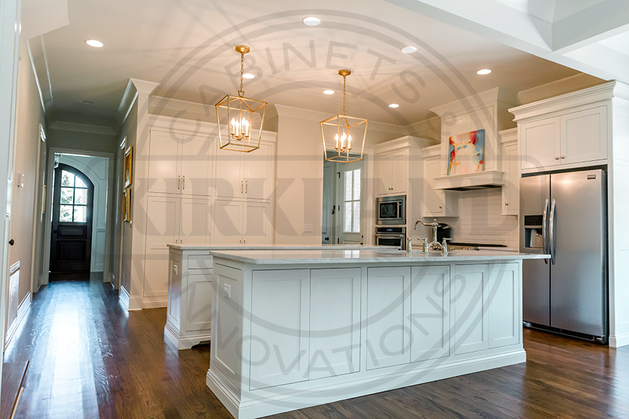 Double Island with Full Wall Pantry Unit