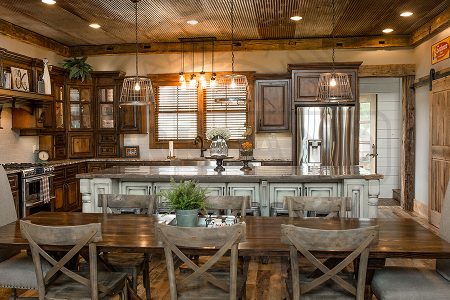 Rustic Styled Kitchen